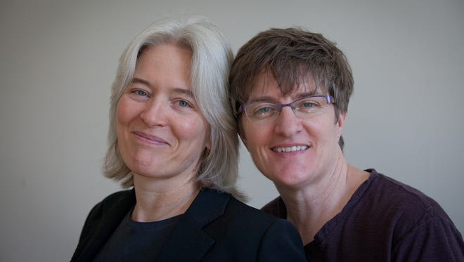 Nancy Andrews, left, and Annie O'Neill