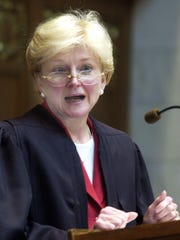 Wisconsin Supreme Court Chief Justice Patience Roggensack.