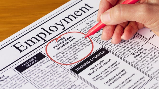 Calhoun County's unemployment rate sank to 4.1 percent in November, the state reported.