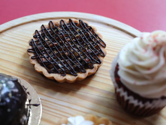 BC Kitchen's sweet attractions include a peanut butter bombe and red velvet cupcakes.