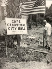 The first Cape Canaveral city hall.