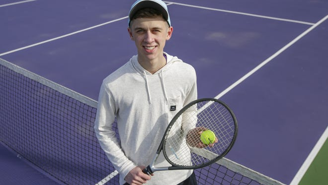 Two Rivers boys tennis player Casey Henrickson is this week's Senior Spotlight.