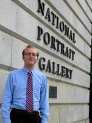 Ray Cwiklinski, a 2013 York Catholic graduate, is doing an internship at the Smithsonian National Portrait Gallery. He attends Washington College.