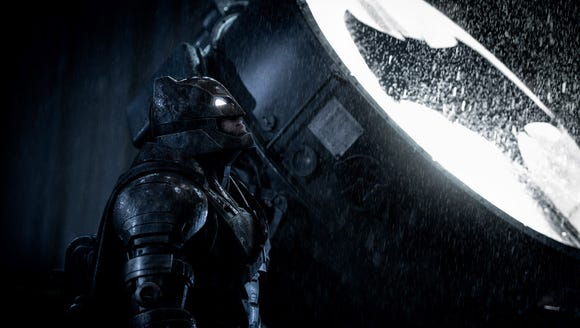 Ben Affleck's Dark Knight is woven into the 'Suicide