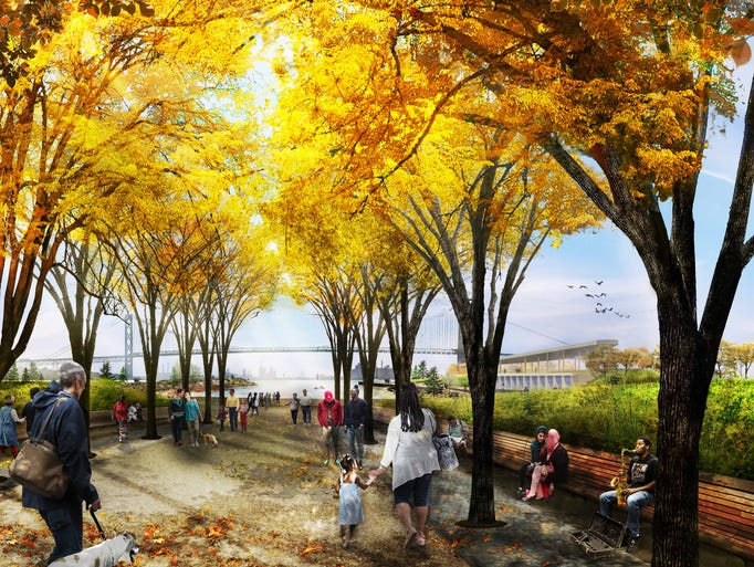 The Detroit RiverFront Conservancy announced today