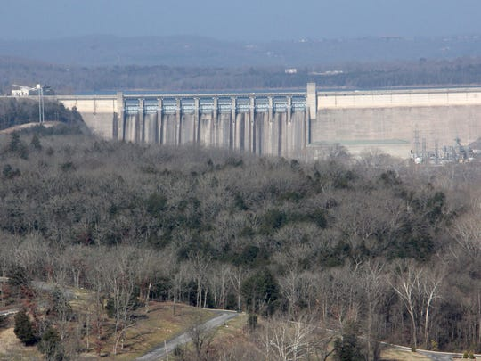 Table Rock Lake dam.