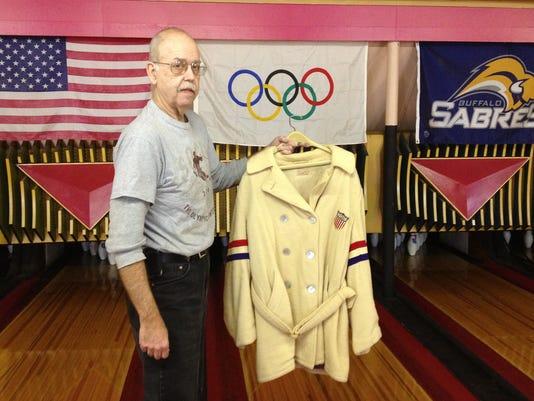 Martin with coat