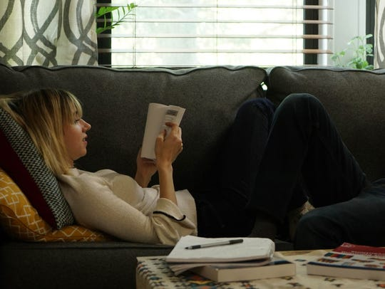 Zoe Kazan as ailing grad student Emily, who is largely