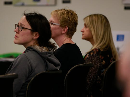 Kids in Crisis town hall held Thursday, April 12, 2018, at Mid-State Technical College in Marshfield, Wisc. T'xer Zhon Kha/USA TODAY NETWORK-Wisconsin