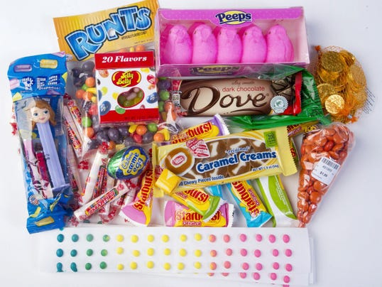 Here are some of the candies you could find in your Easter basket from the '20s to today.
