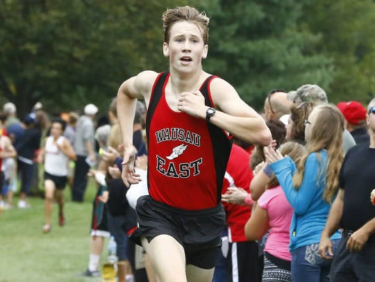 Wausau East senior Axel Treinen is a two-time Division