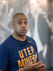 UTEP men's basketball coach Rodney Terry.