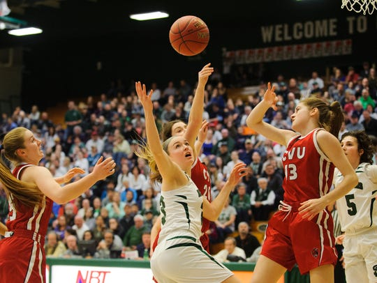 The loss to St. Johnsbury in last year's title game has fueled the motivation and drive for coach Ute Otley and the Redhawks.