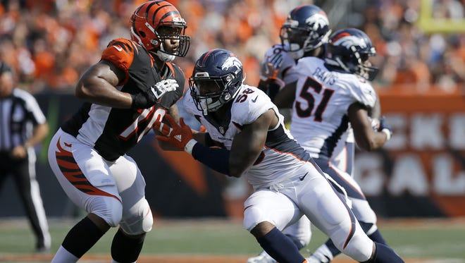 The Cincinnati Bengals are counting on Cedric Ogbuehi having a better season at left tackle than he did on the right side in 2016.