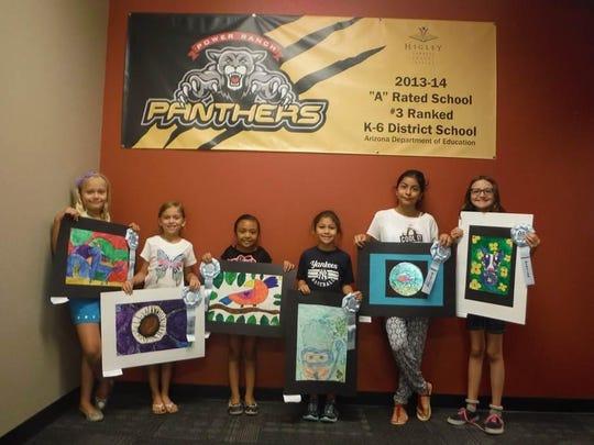 Power Ranch Art Student Winners