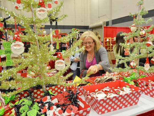 The Handworks Holiday Market is Friday-Saturday at the Mississippi Trade Mart.
