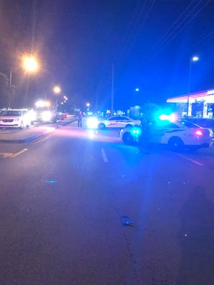Port St. Lucie police are on the scene of a fatal crash Monday night, July 9, 2018.