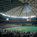 Barry Goodman of Melbourne attended games at Houston's iconic Astrodome.