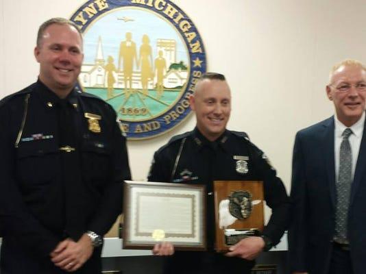 WSD wayne police officer of year