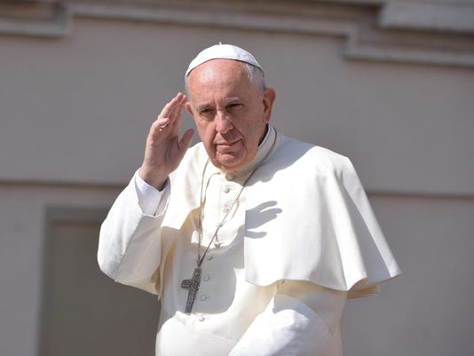 EPA EPASELECT VATICAN POPE REL BELIEF (FAITH) VAT
