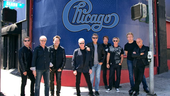 Chicago will perform at the Plaza Theatre, Downtown, on March 29.