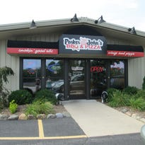 A view of the outside of Parker John's BBQ and Pizza in Kiel.