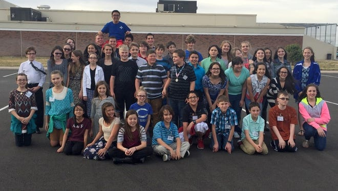 Students from the Carlsbad 6th Grade Academy, Carlsbad Intermediate School, and Carlsbad High School participated in the science and engineering fair.