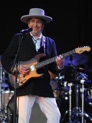 This file photo taken on July 22, 2012, shows Bob Dylan