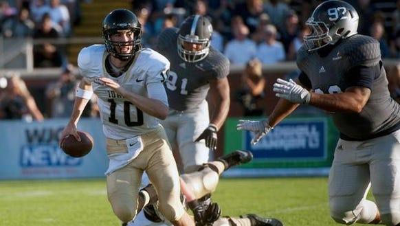 Idaho quarterback Matt Linehan and the Vandals will