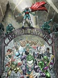 The cover of Batman/Teenage Mutant Ninja Turtles #5.