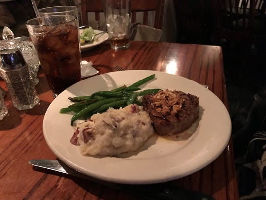 Mountain Jack's serves up prime rib and steaks that are difficult to match in the Lafayette area. And it does it in a relaxing ambiance, including a warm fire on a cold February visit.