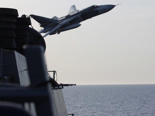 Russian aircraft Baltic