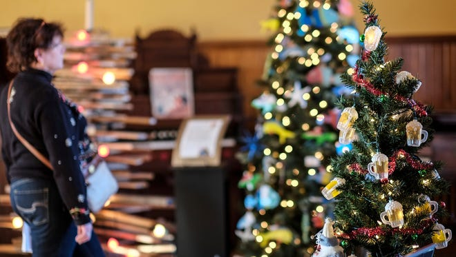 Don't forget to remove decorations from Christmas trees before disposing of them.