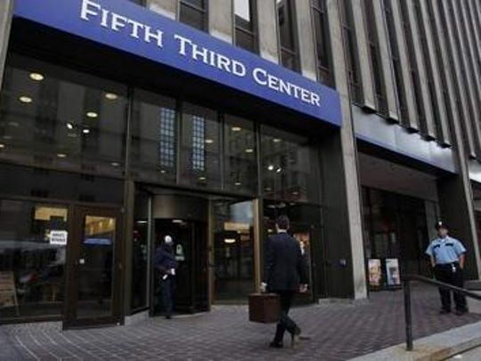 Fifth Third Bancorp is based in downtown Cincinnati.