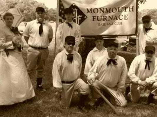0905 Monmouth Furnace Base Ball Club - provided