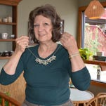 Sally Biggers is reviving the art of tatting