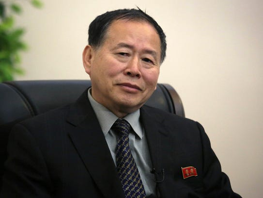 Han Song Ryol, North Korea's vice minister of foreign