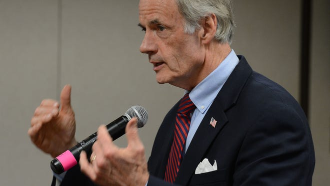 U.S. Sen. Tom Carper and senators from 10 other states, including both from Maryland, have sent a letter to the secretaries of Labor and Homeland Security asking them to quickly resume accepting and processing H-2B visas.