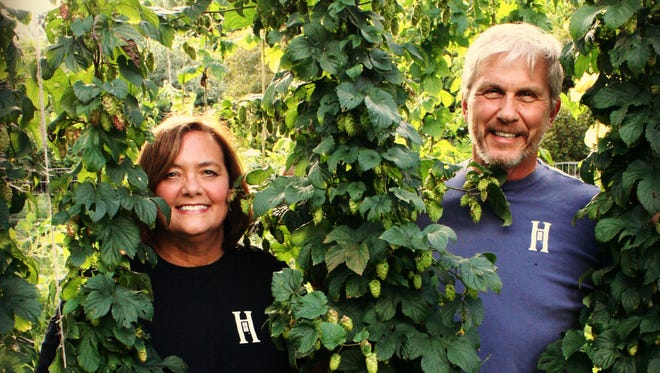 Mary and John Powers plan to open HomeGrown Brewing Co. in Oxford next year.