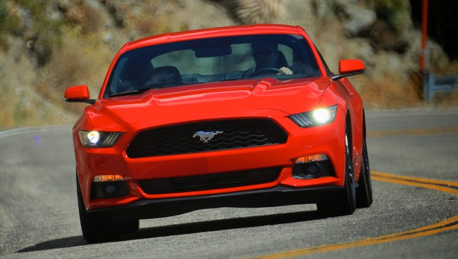 The 2015 Ford Mustang is one of the vehicles subject to the door latch recall