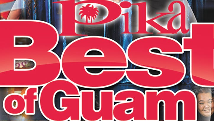 Cover of Pika Best of Guam 2016 issue.