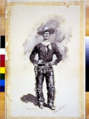 "The Rockwell Museum in Corning will loan ""Lin McLean"", a painting by famous artist Frederic Remington, to the Metropolitan Museum of Art in New York City this summer."