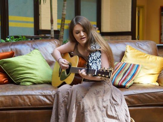 15-year-old Nashville recording artist, Bernadette