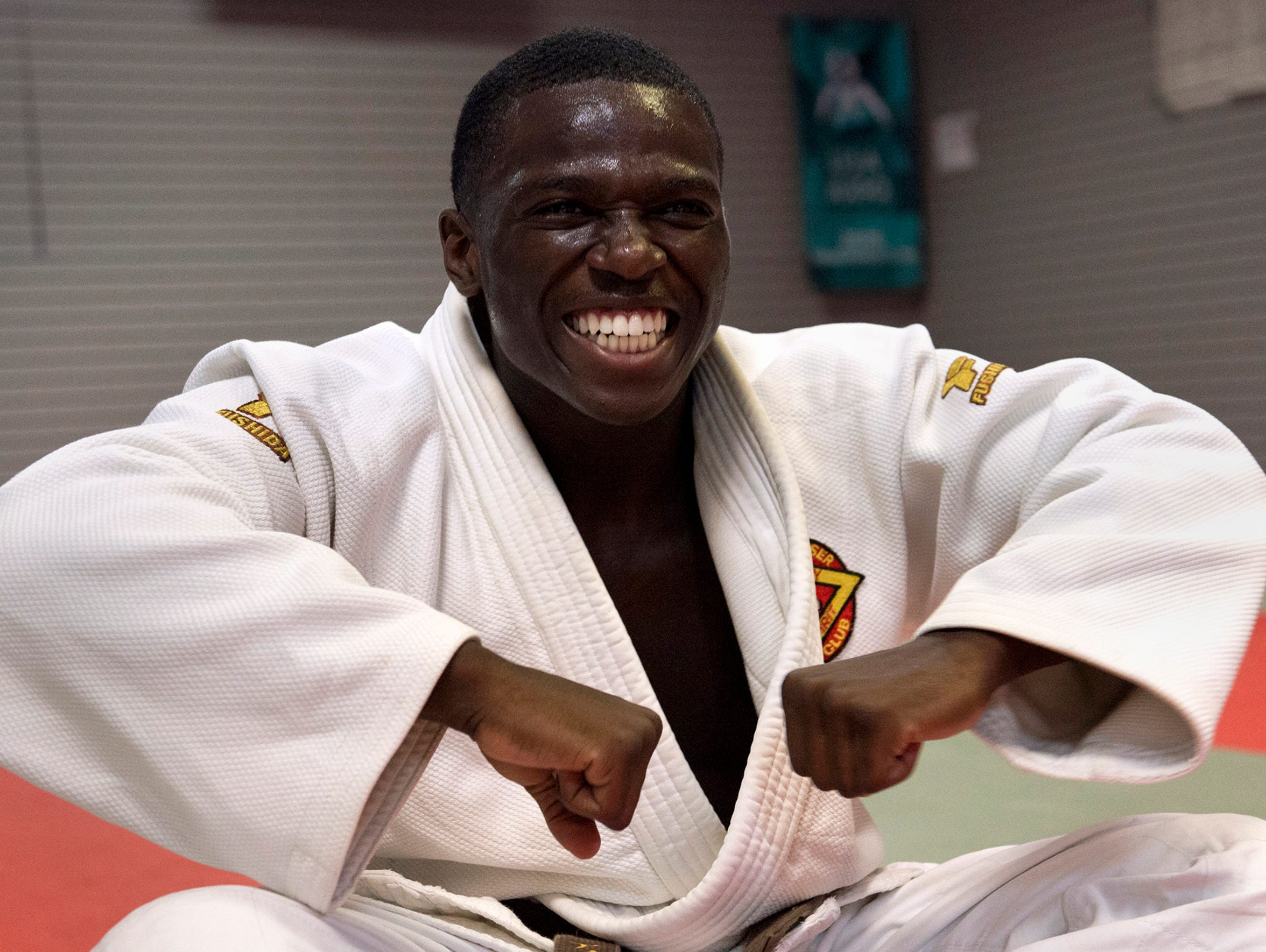 Judo is Darrius Isom's lifeline to a world away from