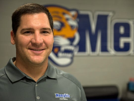 December 14, 2016 - Darrell Turner is Assistant Athletic Director for Sports Medicine for the University of Memphis athletics department. (Brandon Dill/Special to The Commercial Appeal)