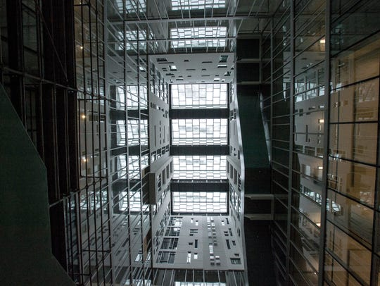 January 6, 2017 - A view of the atrium at the new Parcels