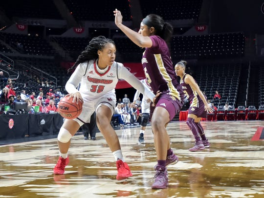 After more of a guard's game against Texas State on