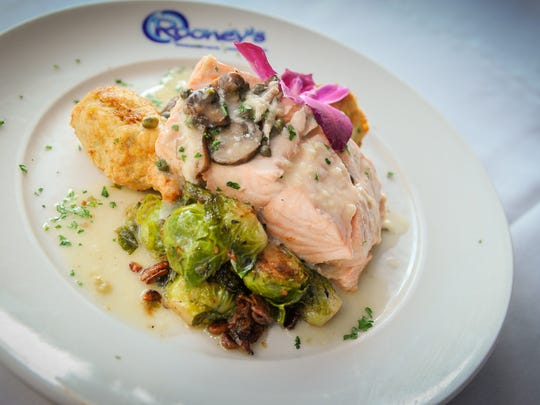 Rooney's Oceanfront Restaurant is known for their fresh seafood.
