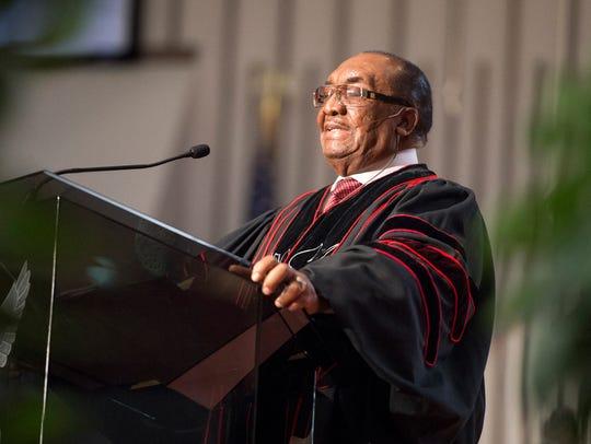 October 27, 2017 - Reverend James L. Netters speaks