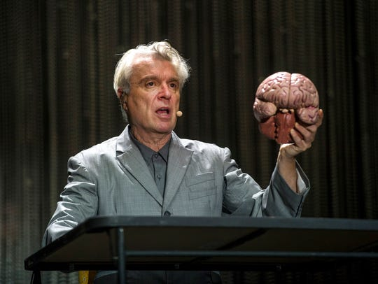 May 5, 2018 - David Byrne performs on the Bud Light